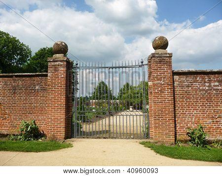 Gates To Walled Garden