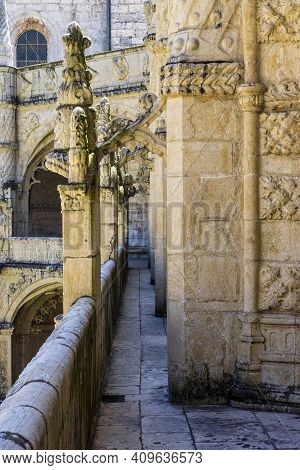 The Hieronymites Monastery, Mosteiro Dos Jeronimos Is Located In Lisbon Portugal. Considered The Mos