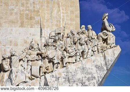 The Padrao Dos Descobrimentos, Monument To The Discoveries Celebrates The Portuguese Who Took Part I