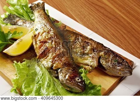 Complet Poisson - Tunisian Complete Grilled Fish