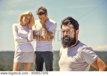 Break Up. Love Triangle. Betrayal And Divorce. Jealous Spouse. Jealous Feeling. Negative Influence O