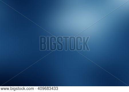 Dark Blue Smooth  Gradient Abstract Blur Background