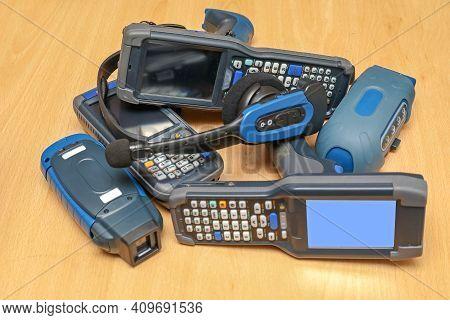 Handheld Barcode Scanner Reader Portable Computer Devices
