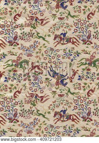 Vintage Japanese Textile : Kawashima Kyoto Textile / Japanese Textile