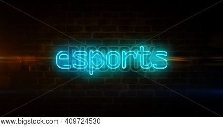 Esports Abstract Concept 3D Illustration