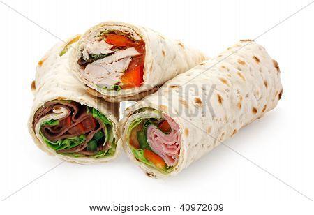 Light Lunch Sliced Wraps