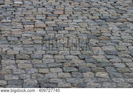 Concrete Road Brick Stone Outdoor Old City