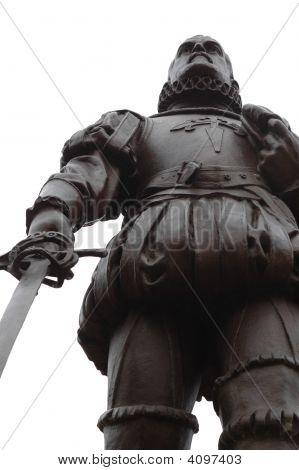 Spanish Conquistador Statue