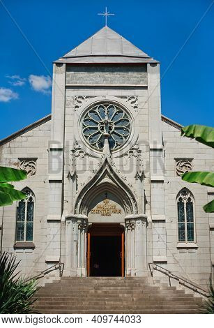 Church Of The Blessed Virgin Mary In Yalta. Roman Catholic Church