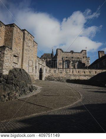 View Of Edinburgh Castle, Edinburgh, Scotland, United Kingdom
