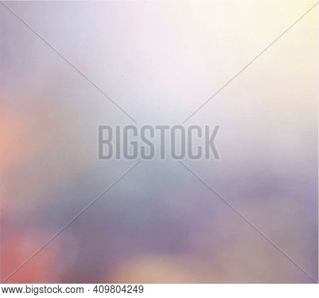 Smooth Pink Blurred Background. The Texture Background Of The Website. Simple Dreamy Design. Abstrac
