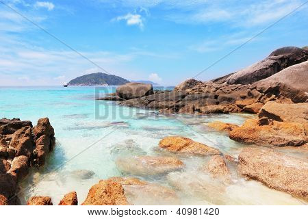 Similansky islands, Andaman Sea, Thailand.