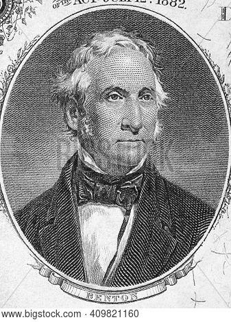 Thomas Hart Benton A Portrait From Old American Money