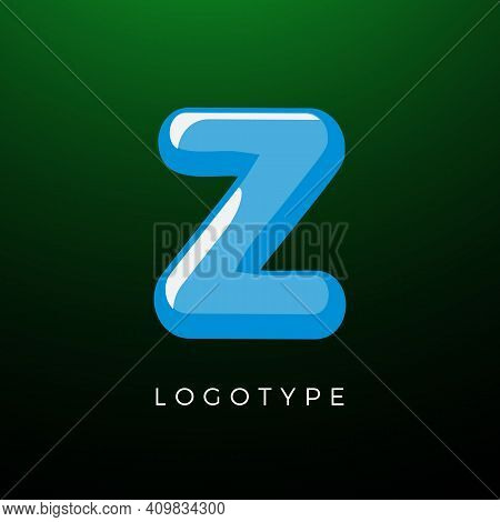 3d Playful Letter Z, Kids And Joy Style Symbol For School, Preschool, Comic Book, Kids Zone Decorati