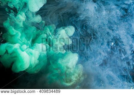 Motion Color Drop In Water,ink Swirling In ,colorful Ink Abstraction.fancy Dream Cloud Of Ink Under