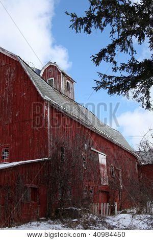 Old Barn - Abandoned