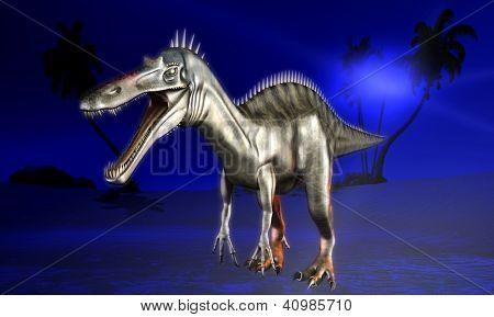 Dinosaur doomsday - the fantasy illustration