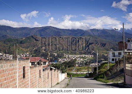 View Of Ecuadorian City