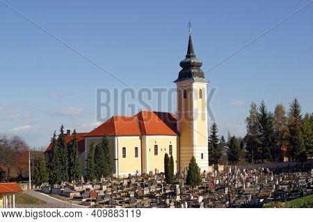 Church of the Visitation of the Virgin Mary in Marija Gorica, Croatia