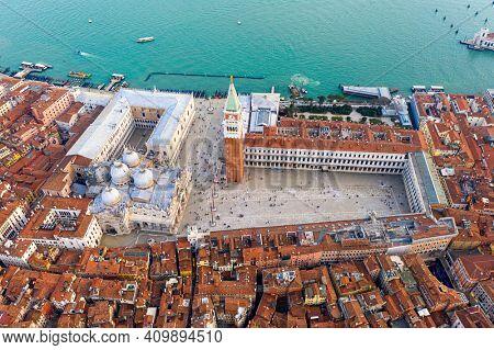 San Marco Square and Basilica of Saint Mark