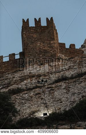 Photos Of The Crimean Peninsula, Sudak Fortress, Also Called Genoese Rock, The Fortress Was Built In
