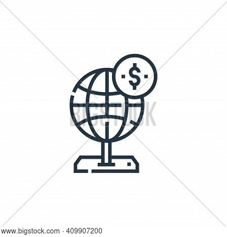 world icon isolated on white background from marketing collection. world icon thin line outline line