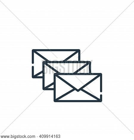 spam icon isolated on white background from hacker collection. spam icon thin line outline linear sp