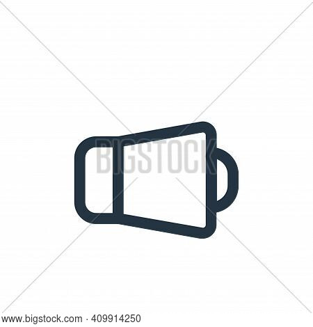 sound icon isolated on white background from device collection. sound icon thin line outline linear