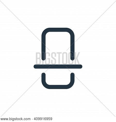 scan icon isolated on white background from device collection. scan icon thin line outline linear sc