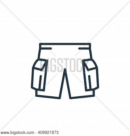 pants icon isolated on white background from wardrobe collection. pants icon thin line outline linea