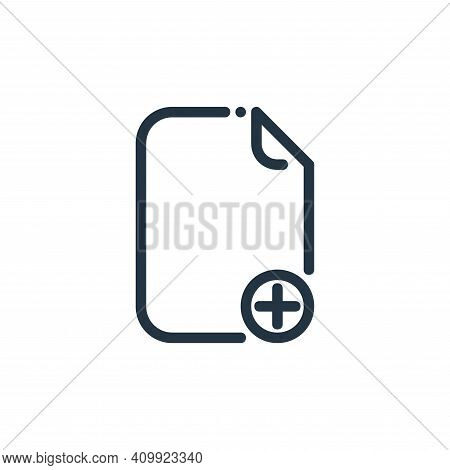 new icon isolated on white background from ricon collection. new icon thin line outline linear new s