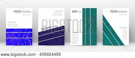 Abstract Cover. Bold Design Template. Suminagashi Marble Geometric Poster. Bold Trendy Abstract Cove