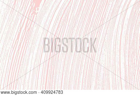 Grunge Texture. Distress Pink Rough Trace. Fine Background. Noise Dirty Grunge Texture. Sublime Arti