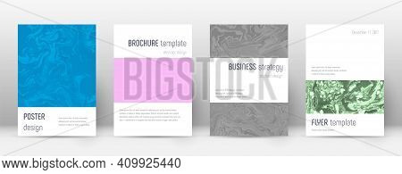Abstract Cover. Divine Design Template. Suminagashi Marble Minimalistic Poster. Divine Trendy Abstra