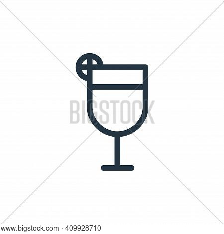 juice icon isolated on white background from holiday collection. juice icon thin line outline linear