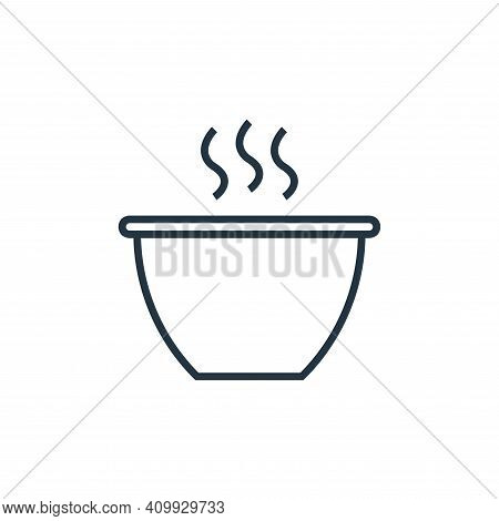 hot drink icon isolated on white background from school collection. hot drink icon thin line outline