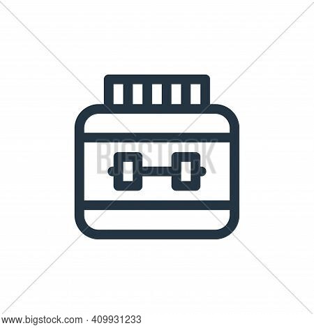 gym icon isolated on white background from medicine collection. gym icon thin line outline linear gy