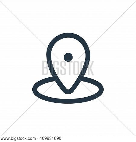 gps icon isolated on white background from device collection. gps icon thin line outline linear gps