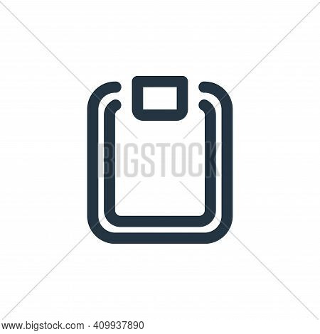 clipboard icon isolated on white background from school collection. clipboard icon thin line outline