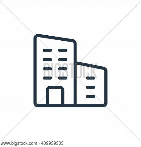 business and trade icon isolated on white background from work office supply collection. business an