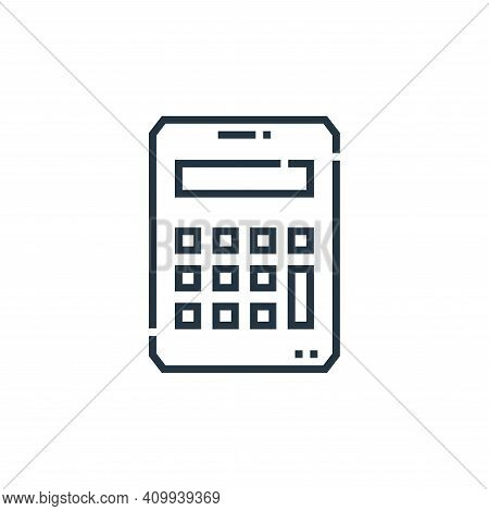 budget icon isolated on white background from marketing collection. budget icon thin line outline li