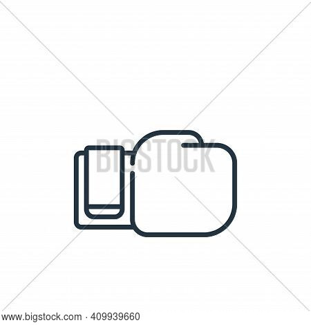 boxing glove icon isolated on white background from life skills collection. boxing glove icon thin l