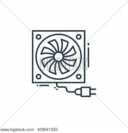 air cooler icon isolated on white background from technology devices collection. air cooler icon thi