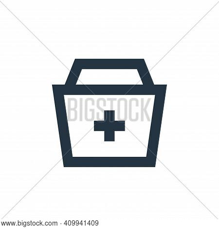 add icon isolated on white background from user interface collection. add icon thin line outline lin