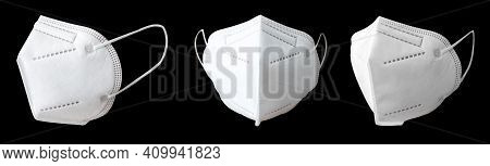 Medical Respiratory Surgical Face Mask Filter Isolated