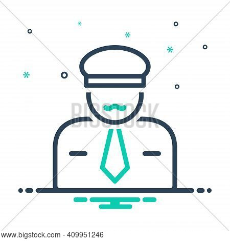 Mix Icon For Sir Mr Guy Gentleman Sir He People Man Police The-law Force Guard Secure Enforcer Polic