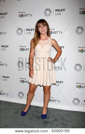 LOS ANGELES - SEP 12:  Christina Robinson at the PaleyFest Fall Previews:  Fall Farwell-