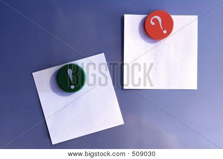 Magnets And Notes