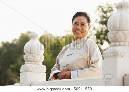 Portrait of Taijiquan practitioner