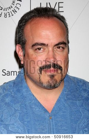 LOS ANGELES - SEP 12:  David Zayas at the PaleyFest Fall Previews:  Fall Farwell-